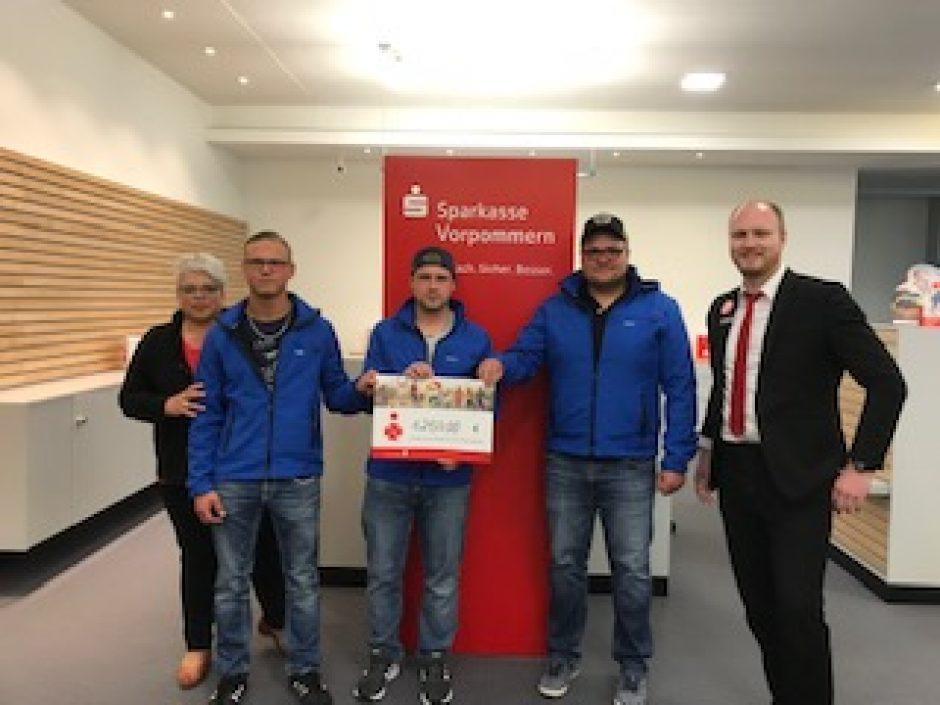 Vereine in Greifswald und Umgebung realisieren Projekte dank PS-Zweckertrag