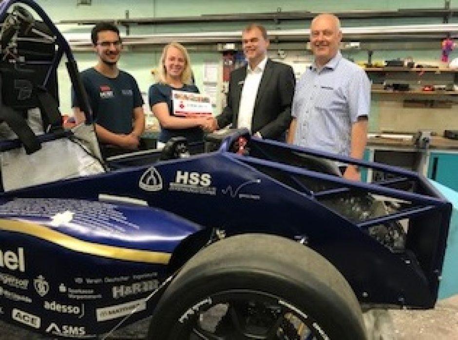 Baltic Racing Team bohrt sich durch