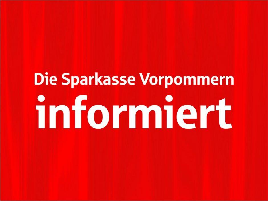 Sparkassen-Service-Filiale Wiek: Vom 30.10. – 20.11.2019 nur SB-Bereich geöffnet
