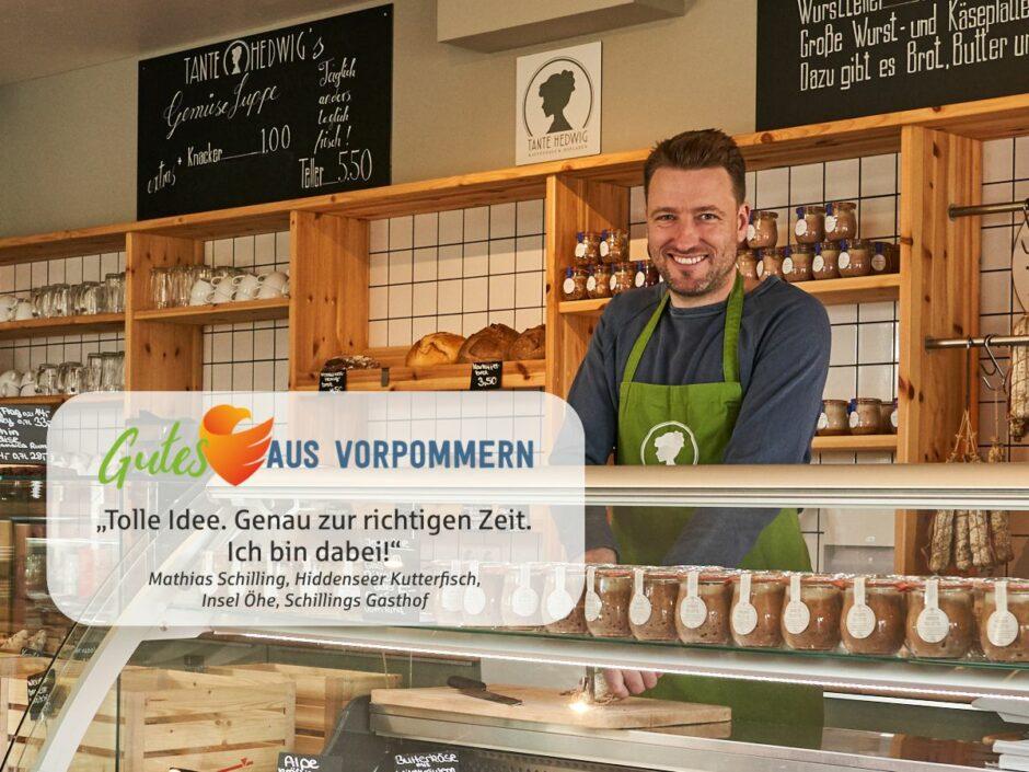 Gutes aus Vorpommern –  Website macht Unternehmen aus Vorpommern online sichtbar