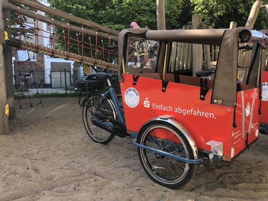 Einfach abgefahren – nachhaltig unterwegs – Lastenräder für Kitas